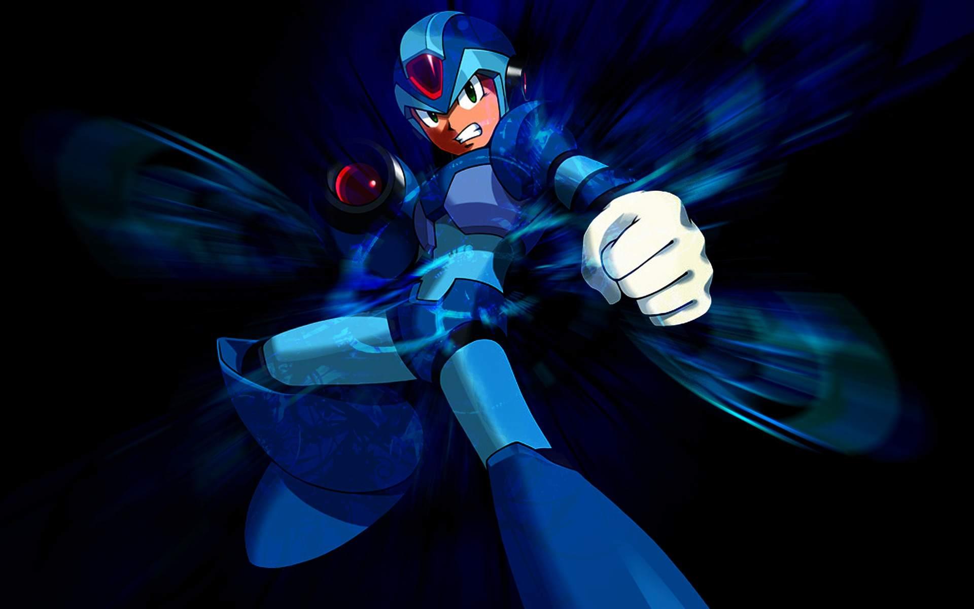Awesome commemorative statue for Mega Man