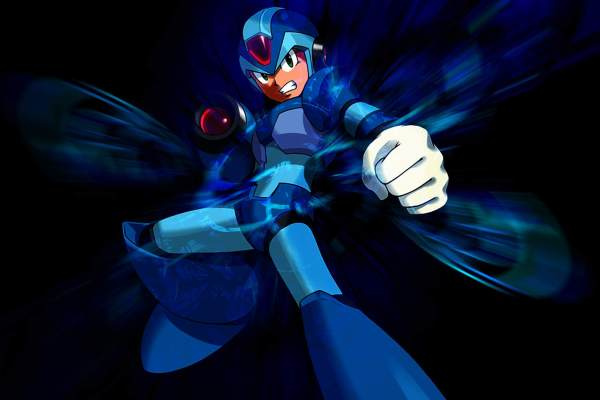 Awesome commemorative statue for Mega Man