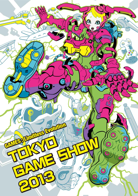 Bishoujo Mech Mascot for Tokyo Game Show 2013 Announced