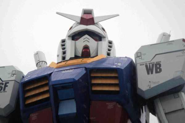 Walking through the Gundam