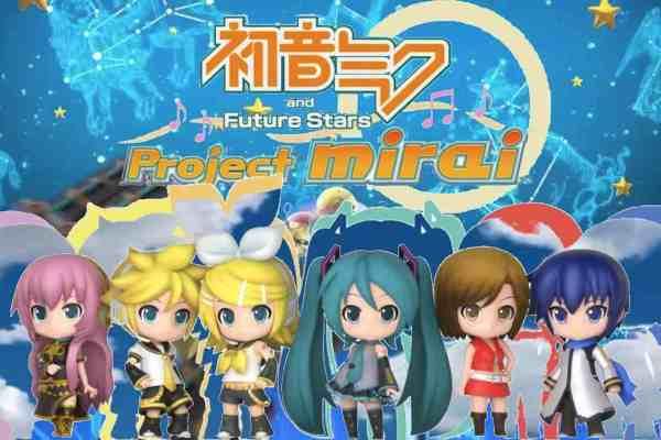Hatsune Miku accessories for the 3DS