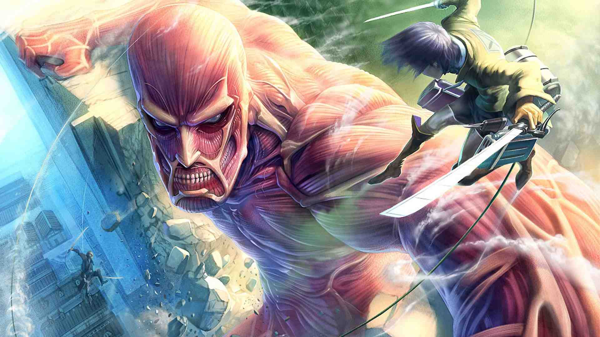 Attack On Titan Arcade Game Has Unique Control System
