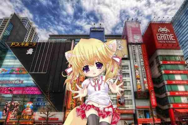 Akihabara Mascot Girl Shows Off Debut Song