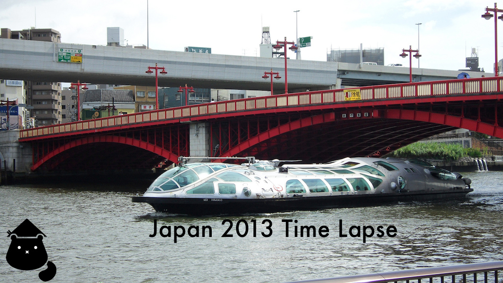 Tokyo 2013 In Time Lapse