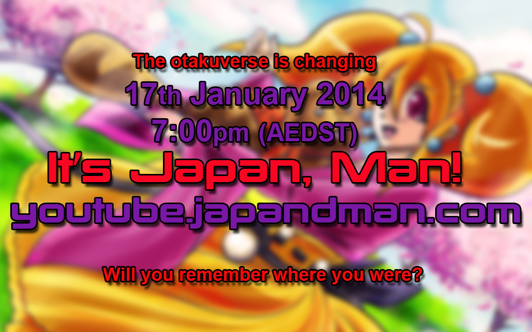 It's Japan, Man! Has Launch Date