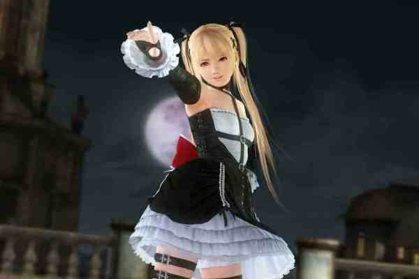 Footage Of Goth Loli Marie Rose In Action