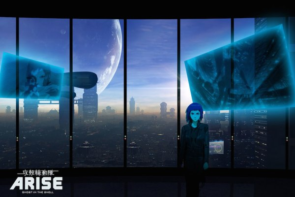 Five Short Films Inspired By Ghost in The Shell ARISE border