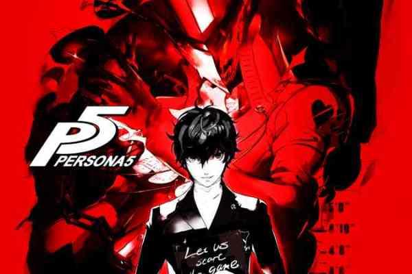 Persona 5 Website Opens