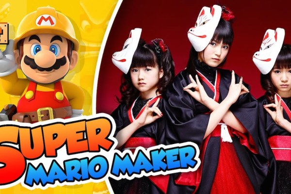 BABYMETAL Joins Super Mario Maker