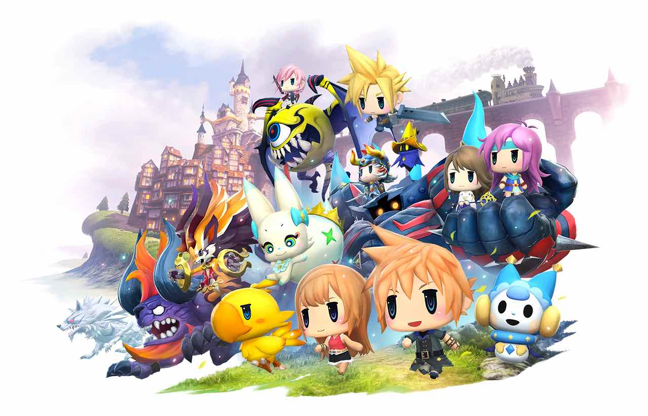 World Of Final Fantasy Adds New Characters