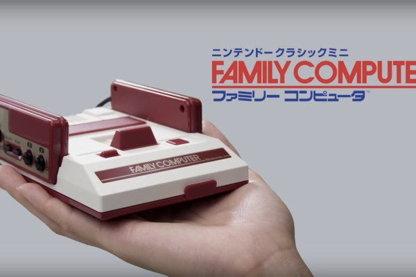 A Look At The Mini Famicom Controller