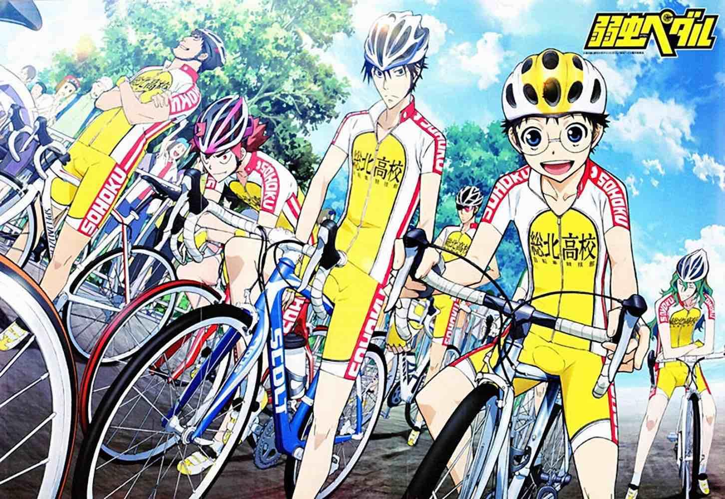 Yowamushi Pedal: New Generation PV