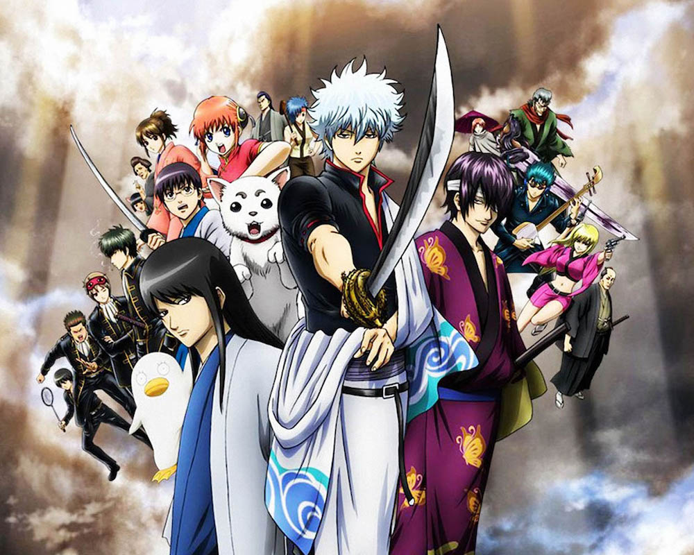 """Some Pics From Live Action """"Gintama"""""""