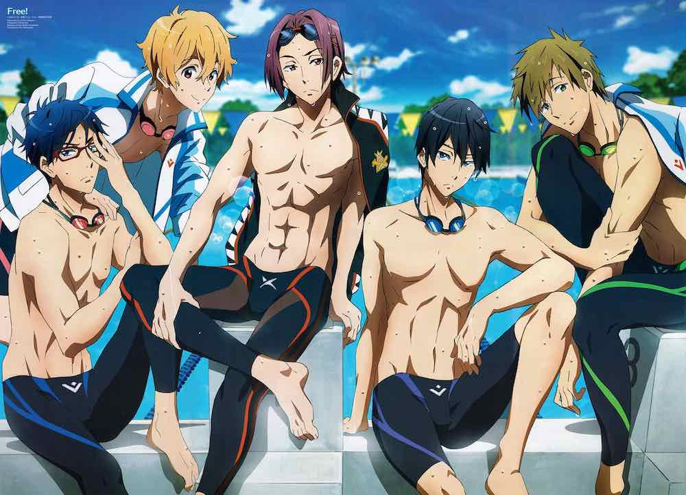 New Trailer For Free! Take Your Marks