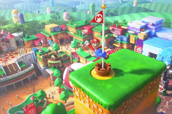 Super Nintendo World Trailer