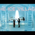 Shikaribetsu Lake Kotan, Ice Village in Hokkaido, Japan, everything is made of ice