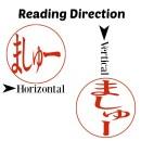 Reading Direction Hiragana