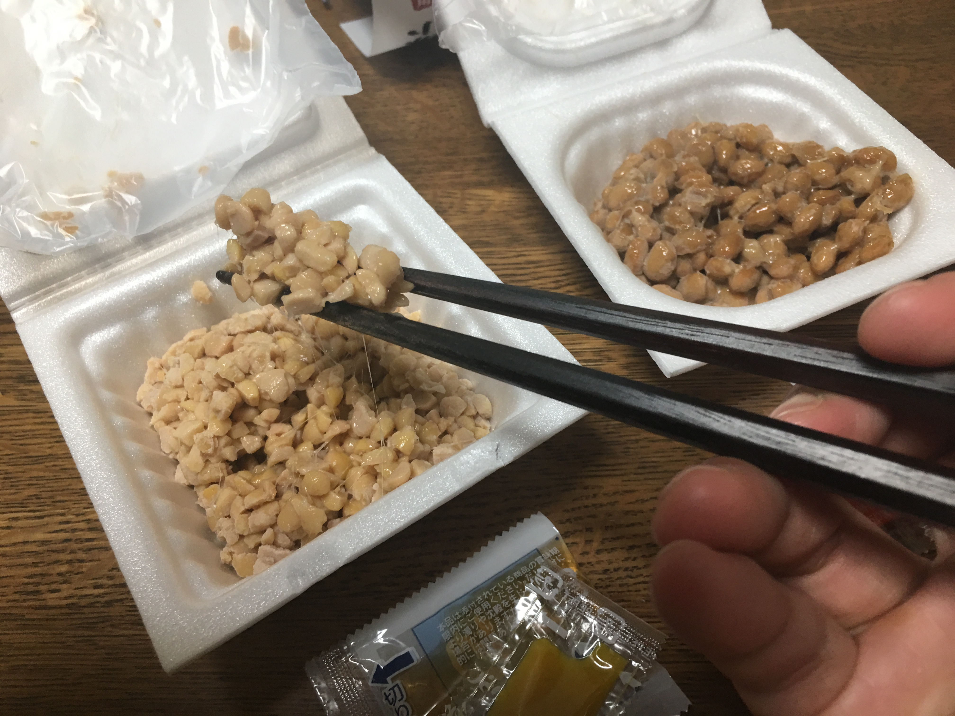 Hikiwari Natto & Kotsubu Natto : Types of Natto Beans - Recommendation of  Unique Japanese Products and Culture