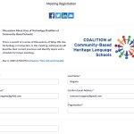 Virtual Workshop on Google Suite for Community-based Schools (3/2/2021)