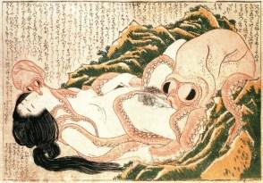 Tako to Ama (Hokusai)