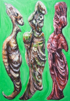 The Green Dialogue Among Plato, Socrates and his Wife Xanthippe