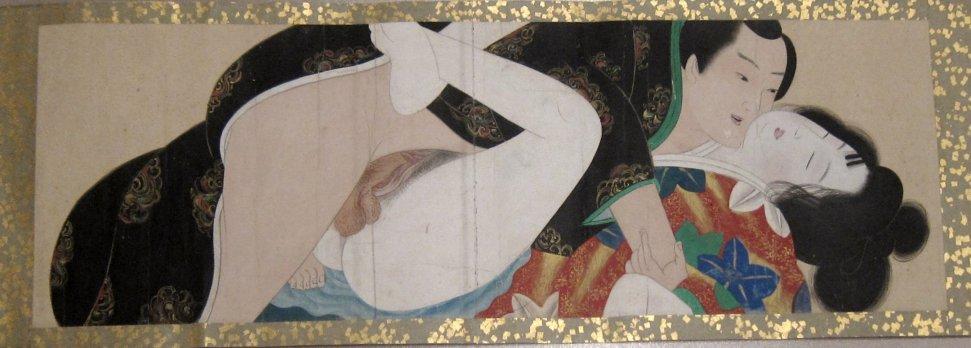 The Kangetsu Handscroll (Kangetsu Shitomi, late 18th Century)