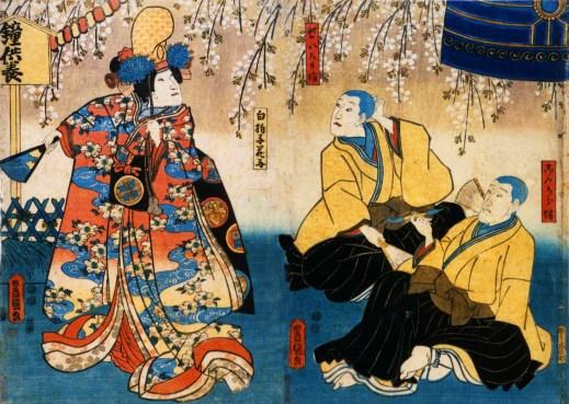Kyō Ganoko Musume Dōjō ji (April 1852 Edo Ichimura za)