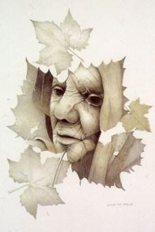 Twilight Woman Leaf