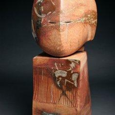 3. Untitled Date: 1991 Material: Stoneware Dimension: 66 x 30 x 25 cm Collection: Artists Photo: Antoine Saito Copyright: DOUCET SAITO