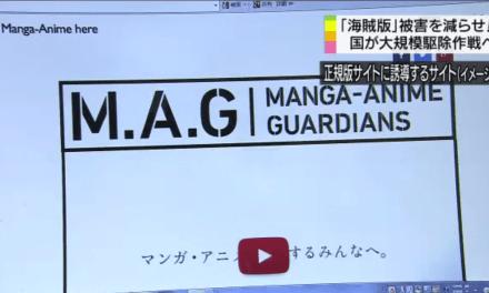 Operasi Anti Pembajakan Anime dan Manga Akan Dimulai Bulan Depan