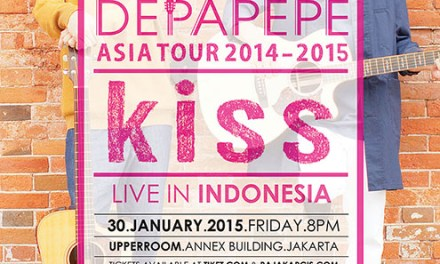 Depapepe Asia Tour 2014-2015 KISS Live in Indonesia