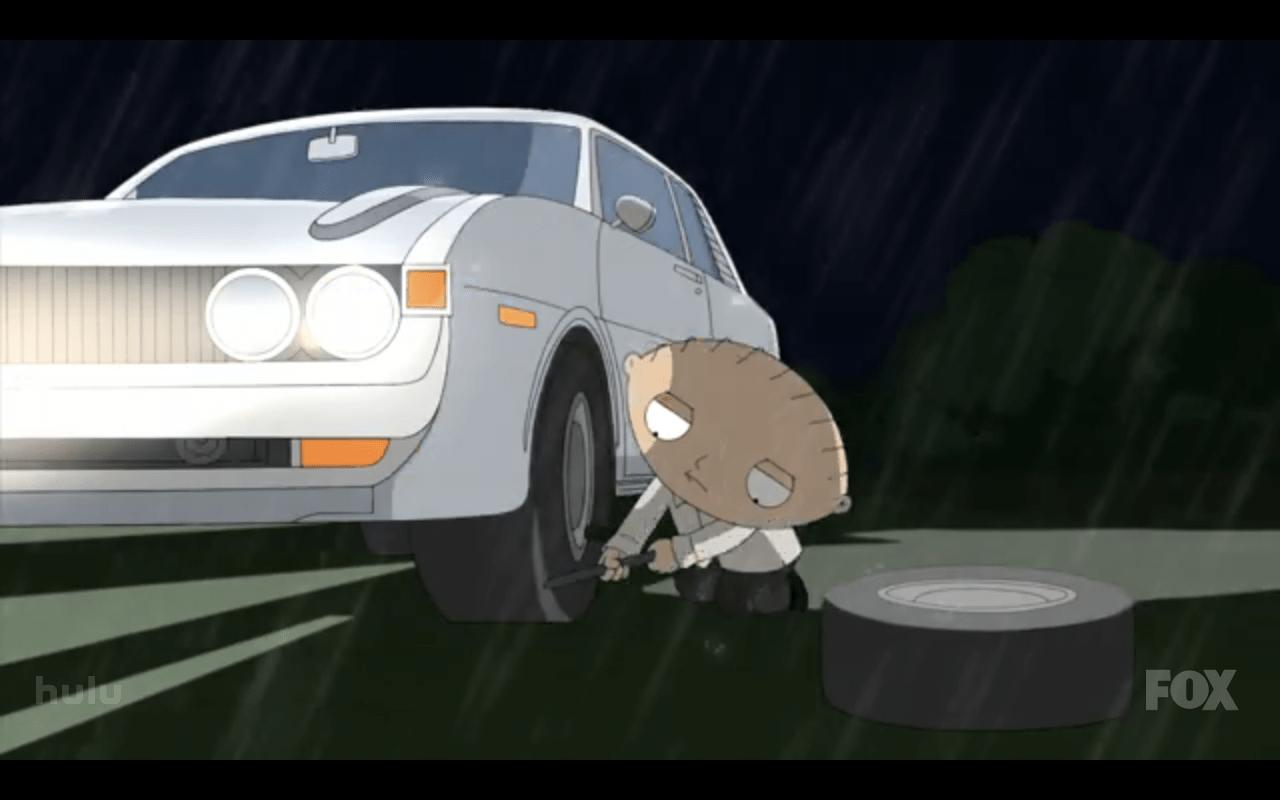 Friday Video Toyota Celica In Family Guy Incredible Hulk