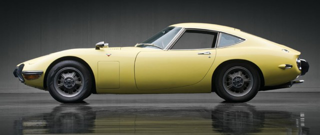 1967 Toyota 2000GT belatrix yellow 01