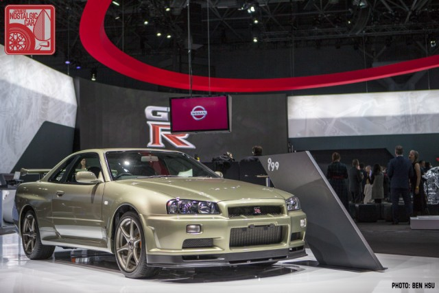 NY Auto Show 2017 Nissan GT R Brings All Generations