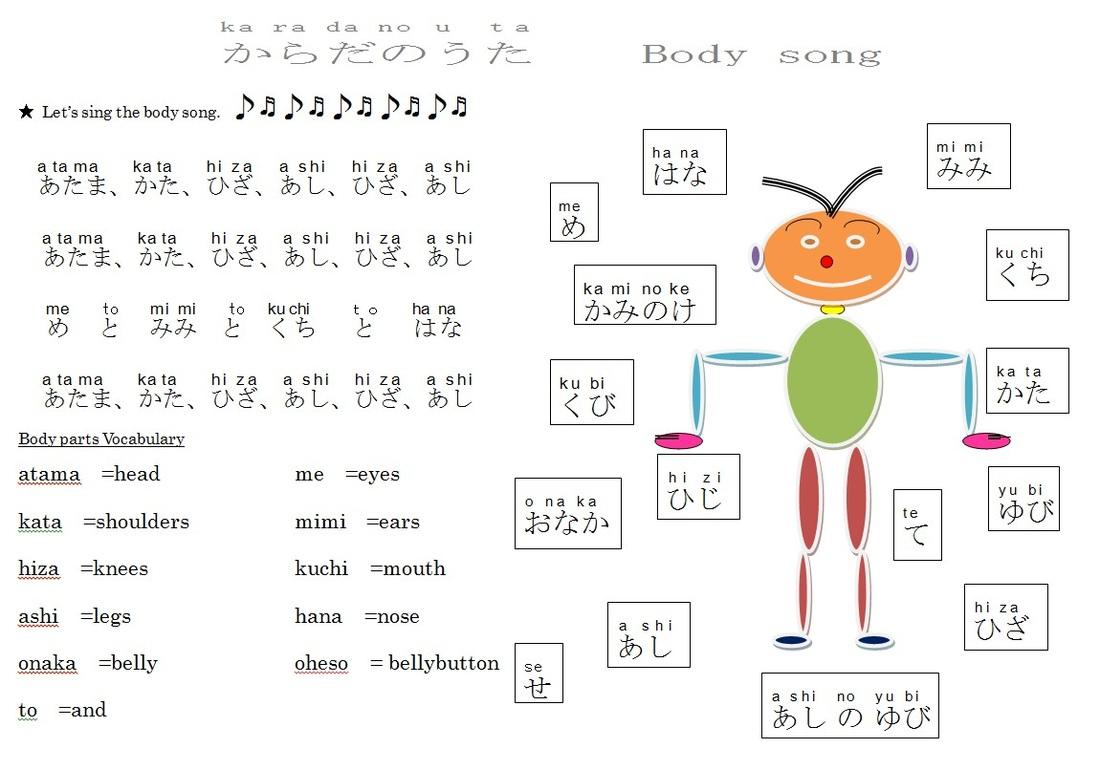 Japanese Adjectives Worksheet