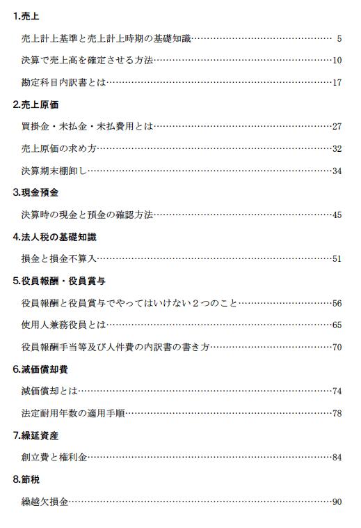 ebook目次