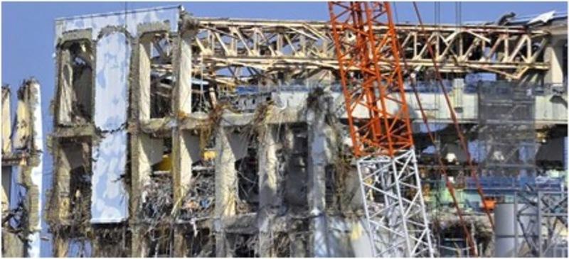 Reactor # 4 at Fukushima Daiichi