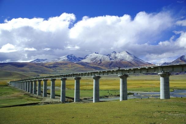 Železnica Čching-chaj-Tibet