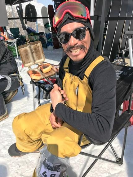 Tenjin Banked Slalom 2017 Amagai sandwhich
