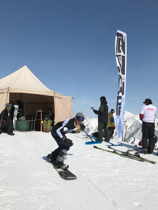 Tenjin Banked Slalom 2017 dropin
