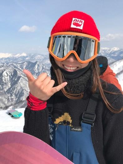 Tenjin Banked Slalom 2017 girl shaka
