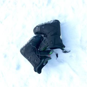 Nagareha banked slalom boots