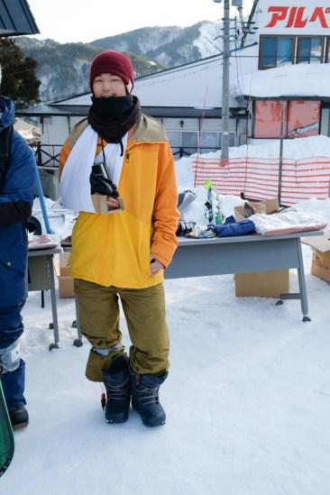Nagareha banked slalom broken arm