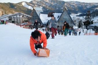 Nagareha banked slalom dive