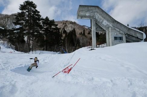 Nagareha banked slalom 3rd