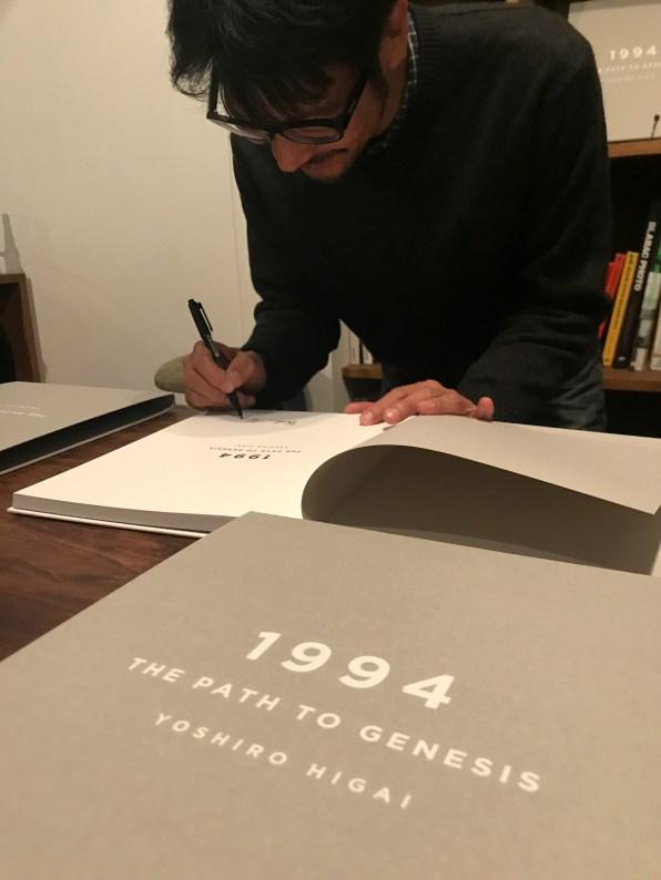 1994: The Path To Genesis Higai signing