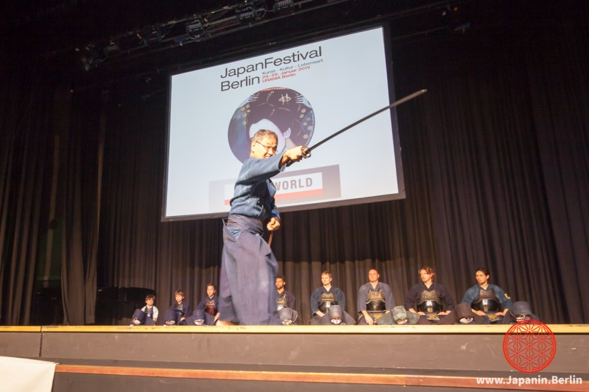Iaido-Demonstration von Aoki Sensei
