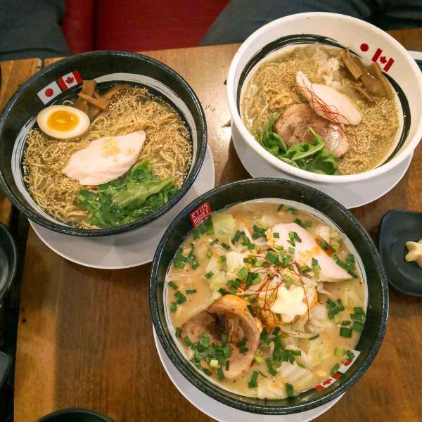 【New Open -RAMEN】RYUS Noodles Bar's Queen Location in Toronto