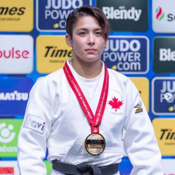 Judoka Christa Deguchi became Canada's first Senior World Champion, Writes History for Canada