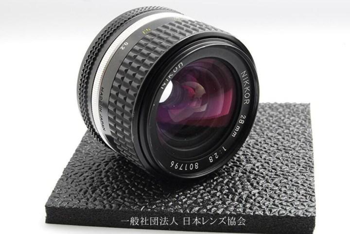 Nikon AI-S Nikkor 28mm F2.8